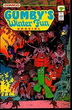 Comico! Gumby's Winter Fun Special! Issue 1!