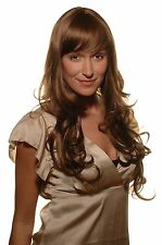 EIN TRAUM Wig brunette, long, curly Points NEW