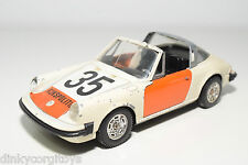 MEBETOYS 8573 PORSCHE 911 S 911S DUTCH POLICE RIJKSPOLITIE GOOD CONDITION