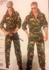 Charades Men's Size 1x Top Gun Costume #52461
