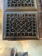 Tc 19 Seven Available Price To Separate Antique Cast-Iron Wall Grates