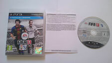 JUEGO COMPLETO FIFA SOCCER 13 SONY PAL PLAYSTATION 3 PS3 ESPAÑA. BUEN ESTADO