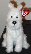 Ty Beanie Baby - SNOWY the Dog (The Adventures of TinTin) ~ MINT with MINT TAGS