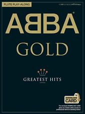 ABBA Gold Flute Play-Along Play Mamma Mia WATERLOO MUSIC BOOK & Download Card