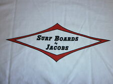 SURFBOARDS BY JACOBS HAP HERMOSA BEACH SURF SURFBOARD BEACH LONGBOARD FIN S/S XL