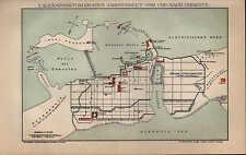 Landkarte map 1898: ALEXANDRIEN IM 1./3.-5. JHT VOR U NACH CHRISTUS. Africa