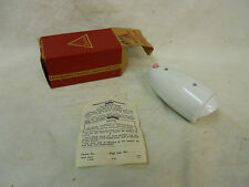 NOS NIB Delta Hurricane Bicycle Horn Vintage White Made in USA  Electric horn