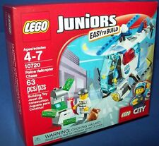 LEGO 10721 Juniors EASY TO BUILD POLICE HELICOPTER CHASE minifigure Age 4-7
