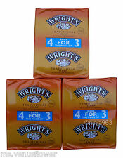 12 x 125g WRIGHT'S TRADITIONAL COAL TAR FRAGRANCE SOAP BARS