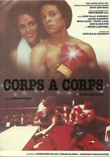 RARE / CARTE POSTALE POSTCARD - CORPS A CORPS - BOXE MOHAMMED ALI / COMME NEUF