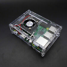 Transparent Clear Case Enclosure Box for Raspberry Pi 2 Model/ B+/3 Kits Tools F