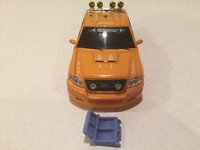 XMODS TRUCKS YELLOW F150 BODY AND FRONT CLIP IN USED CONDITION