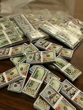 1/6 scale 10 stacks + 15 loose miniature money. $100 bills! For GI Joe Barbie!