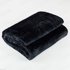 Luxury Blanket Soft Mink Faux Fur Throw - for Bed Sofa Home 150cm x200cm Double