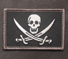 CALICO JACK NAVY SEAL PIRATE FLAG DEVGRU NSWDG SWAT OPS VELCRO® BRAND PATCH