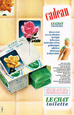 PUBLICITE  1967   LE CHAT  savon