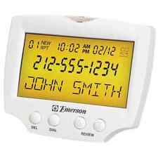 Large Display Talking Caller ID Box Sight and Hearing Impaired Free A/C Adaptor