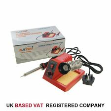 58W Variable Temperature Soldering Station Iron  Electronic Repair 312089A 1 Tip