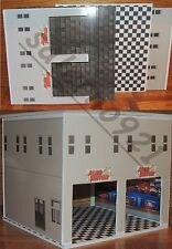 NEW BUILDING KIT WITH DUAL ENTRANCE AUTO REPAIR SHOP 1:24 (G) Scale DIORAMA