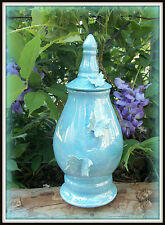 Beautiful Ceramic keepsake or pet Cremation Urn with Mother of Pearl