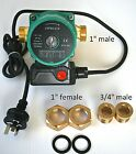Brass Solar Hot Water Circulation Pump, 3 speed, replaces pumps in SHW systems