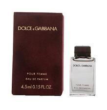 DOLCE & GABANNA POUR FEMME red .15 oz EDP Women's Mini Perfume Splash Tester