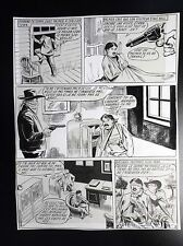 Jolie Planche originale Le coup de feu fatal  9 Red Canyon 67