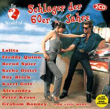 CD Schlager Der 60er Jahre aus der The World Of Serie von Various Artists 2CDs