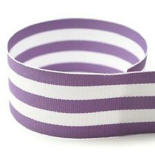 "5 yards  7/8"" Multiclored Stripes Taffy Woven Grosgrain Ribbon U Pick Color"