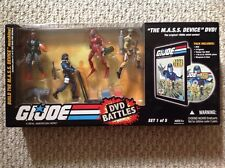 2008 Hasbro GI Joe DVD Battles The MASS Device DVD Set #1 Action Figure MISB!
