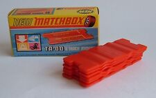 Matchbox Superfast No. TA-00, 6 Track Joiners, - Superb Mint.