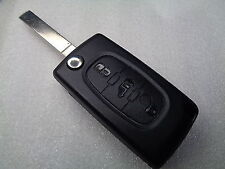 Genuine Citroen Berlingo Remote Key - Cut to Code - Part Number 6490E0