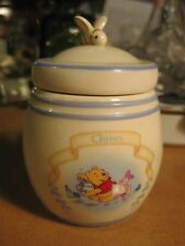 Lenox Disney Winnie the Pooh Pantry Spice Jar CHIVES Kitchen Piglet