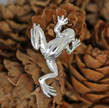 925 solid Sterling New frog pendant