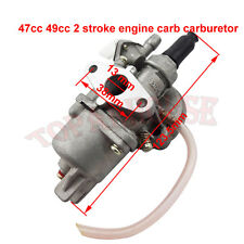 Carburateur carb filtre à air Pour 49cc mini moto atv quad dirtbike 47cc