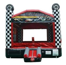 Race Car Speedway Bounce House - Inflatable Jumper Great for Racing Themed Party