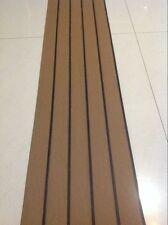 12.5 Meter Roll Boat Yacht Synthetic Teak Deck 50mm Wide With Black Caulking