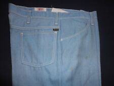 """Men's Vintage 1970's Farah  Slacks  38 x 33"""" Boot Cut , Cotton Blend"""