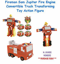Fireman Sam Jupiter Fire Engine Convertible Truck Transforming Toy Action Figure