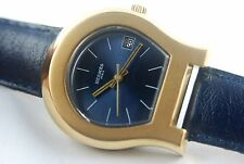 HERMES PARIS VINTAGE AUTOMATIC WATCH WITH DATE HIGHLY COLLECTIBLE  BIG SIZE  !!!