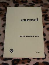 CARMEL 1976-3 - Sainte Thérèse d'Avila