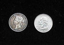 CANADA COIN  1871 25 CENTS SILVER  -- PLEASE SEE PICTURES FOR CONDITION