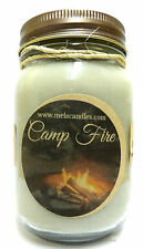 Camp Fire 16oz Country Jar Soy Candle- approximate Burn Time 144 hours