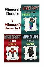 Minecraft Bundle: Minecraft Book Bundle of 3 Minecraft Hero Books in 1 Minecraf
