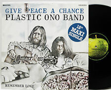"Plastic Ono Band           Give peace a chance     12 ""   Maxi       NM   #  A"