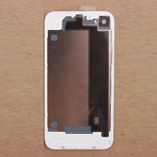 New Battery Back Cover Door Rear Glass Replacement For Apple iPhone 4 4G White