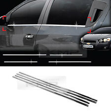 Chrome Window Sill Accent Molding for 2011-2015 Chevrolet Sonic Aveo HatchBack