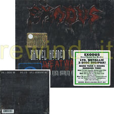 "EXODUS ""SHOVEL HEADED TOUR MACHINE"" LTD.METALLIC 3-CD DIGIPACK - SEALED"