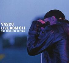 VASCO ROSSI - LIVE KOM 011 THE COMPLETE EDITION 2 CD + DVD NEU
