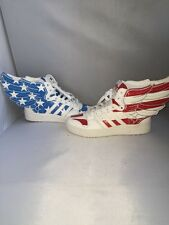 Adidas Jeremy Scott Wings Stars and Stripes 5.5 NEW
